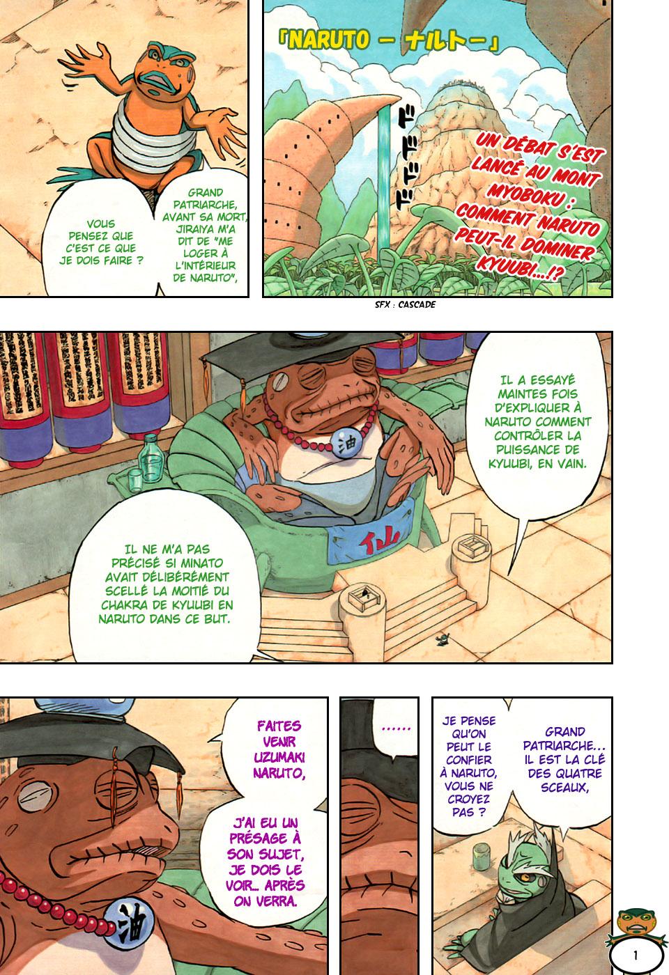 Naruto chapitre 489 colorisé - Page 1