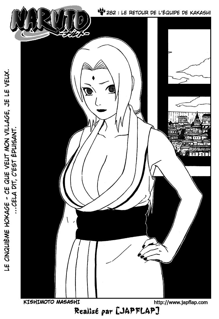 Naruto chapitre 282 - Page 1