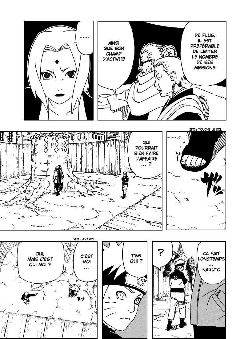 Naruto chapitre 282 - Page 11