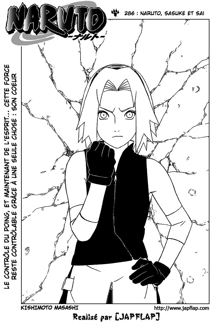 Naruto chapitre 286 - Page 1