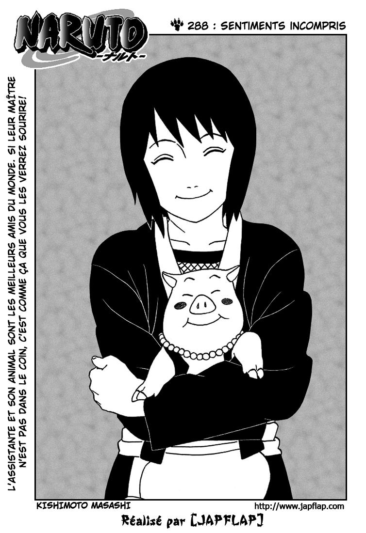 Naruto chapitre 288 - Page 1