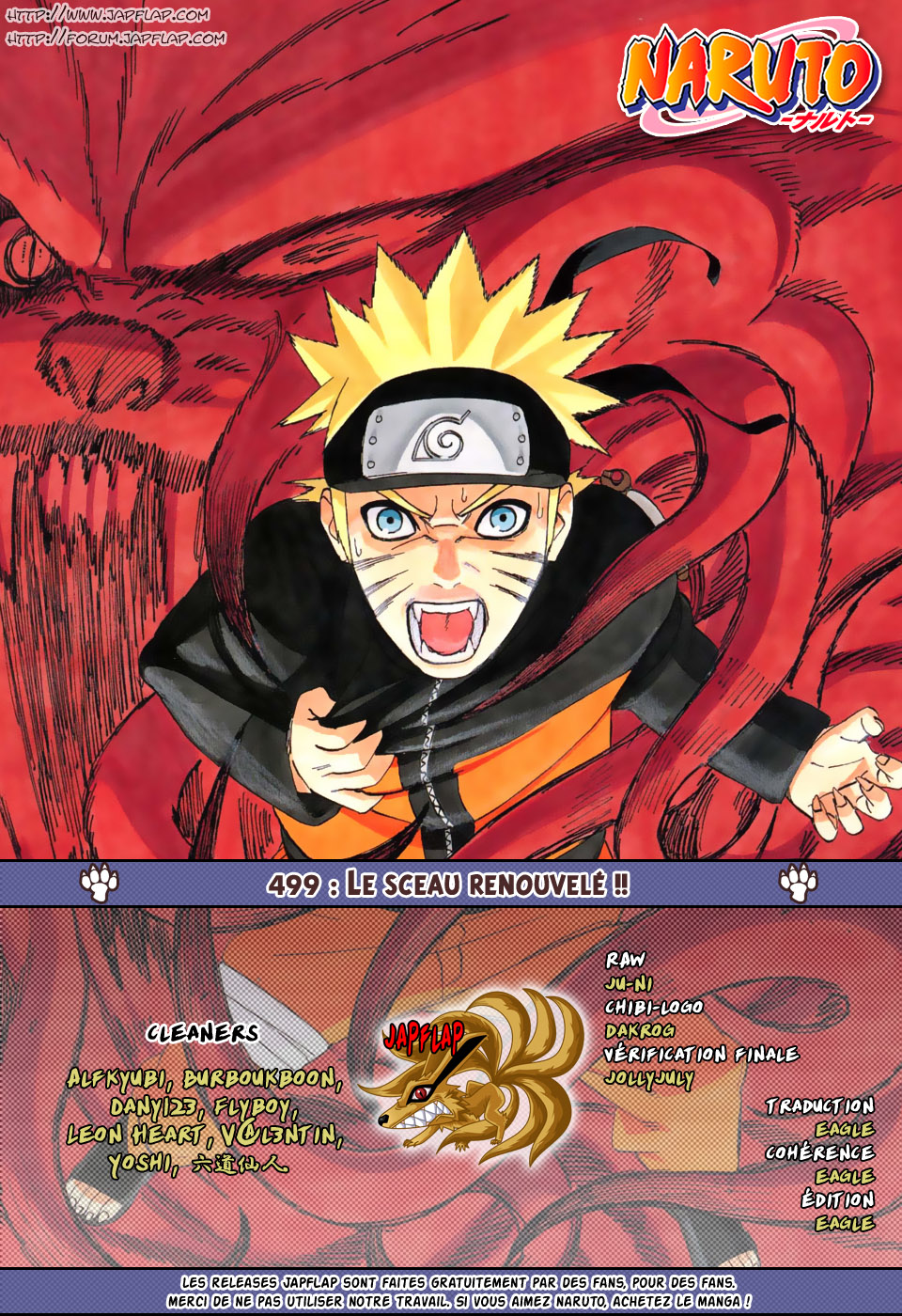 Naruto chapitre 499 - Page 17