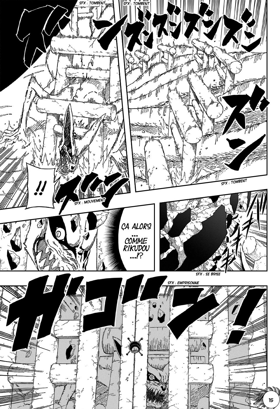 Naruto chapitre 499 - Page 14
