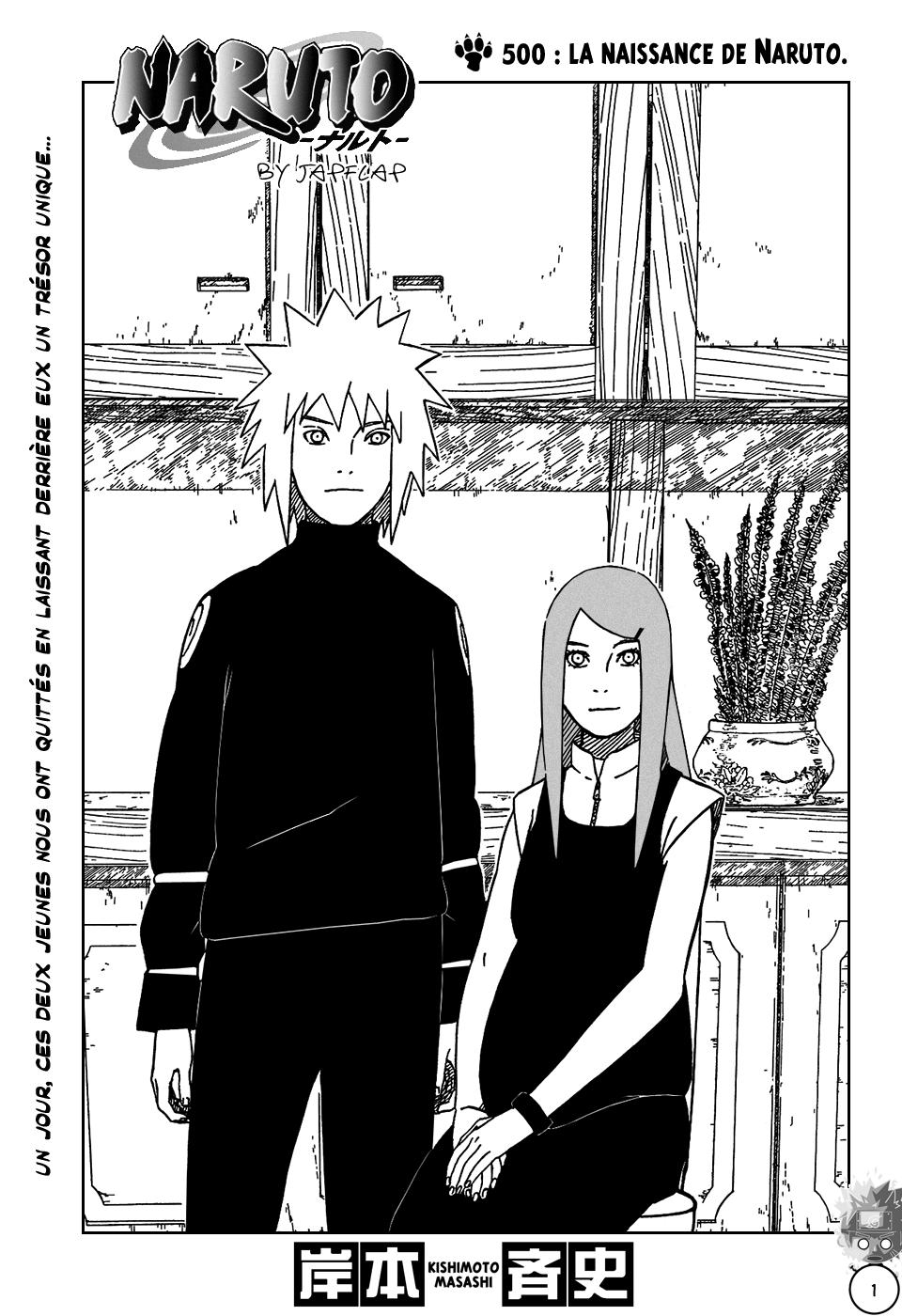 Naruto chapitre 500 - Page 1