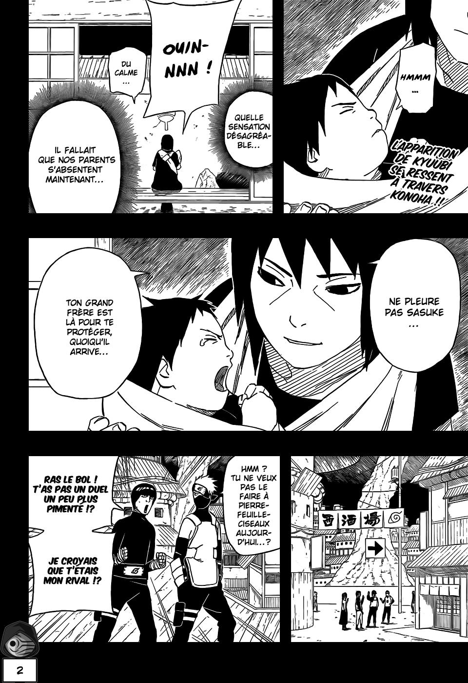 Naruto chapitre 502 - Page 2