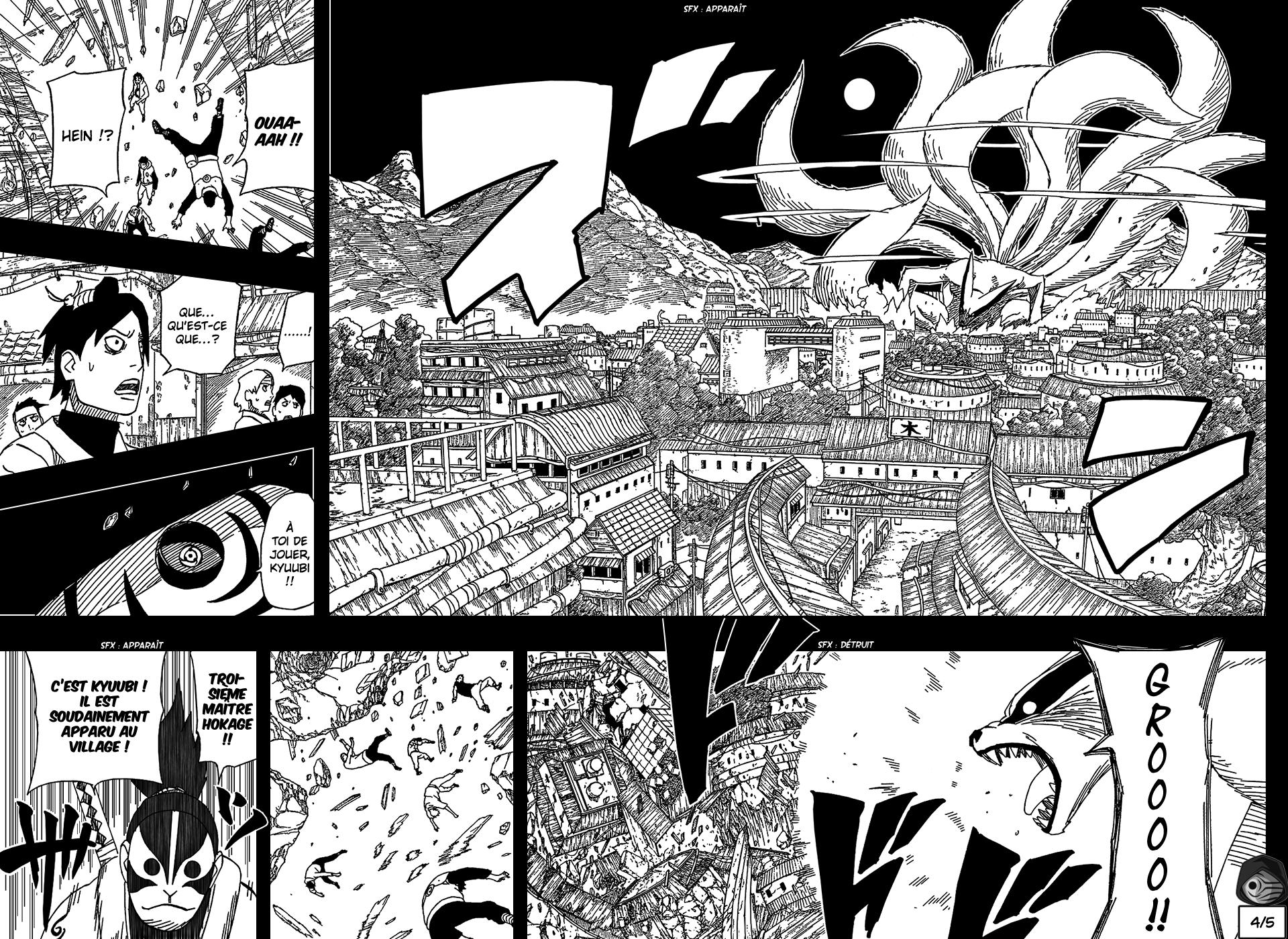 Naruto chapitre 502 - Page 4