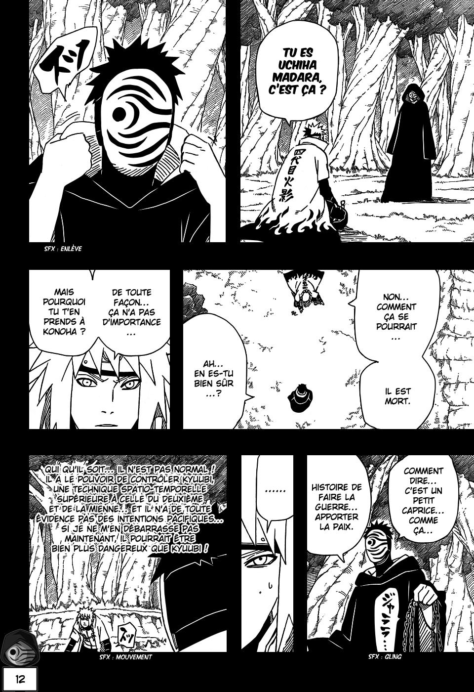 Naruto chapitre 502 - Page 11