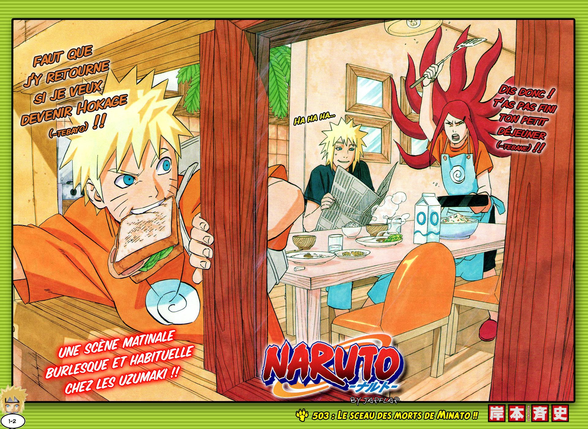 Naruto chapitre 503 - Page 1