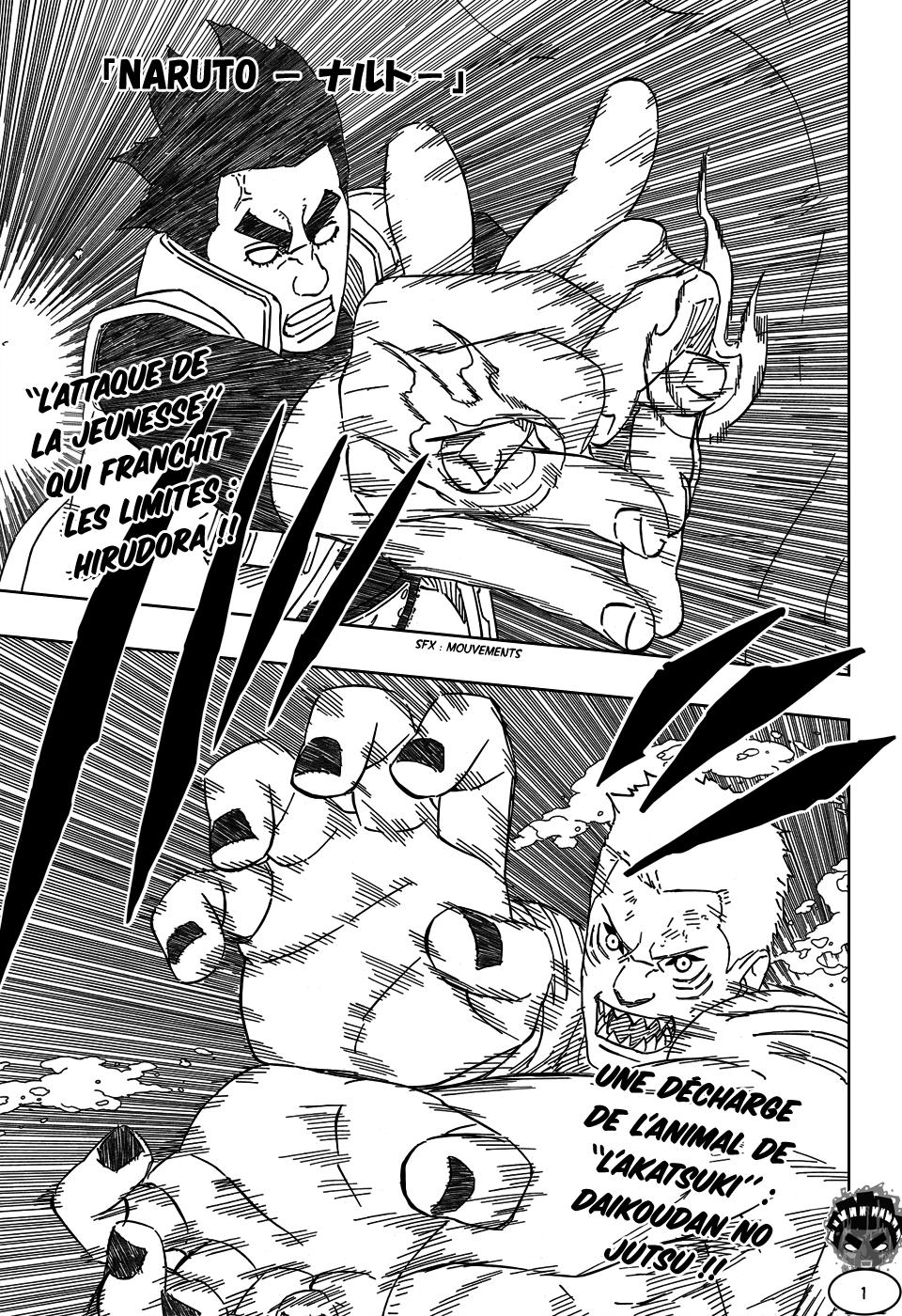 Naruto chapitre 507 - Page 1