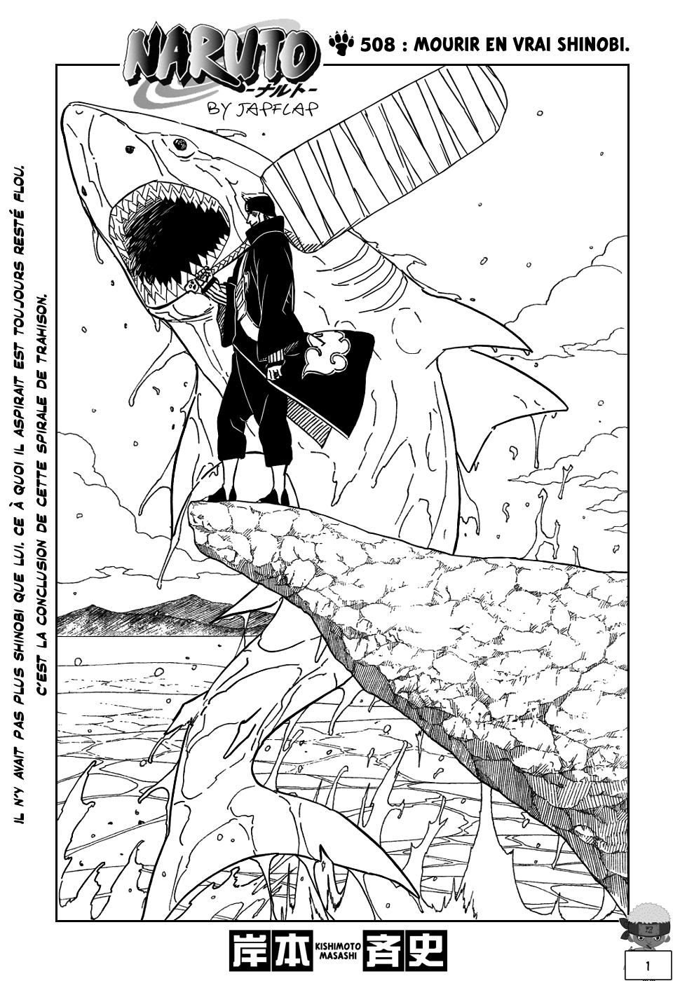 Naruto chapitre 508 - Page 1