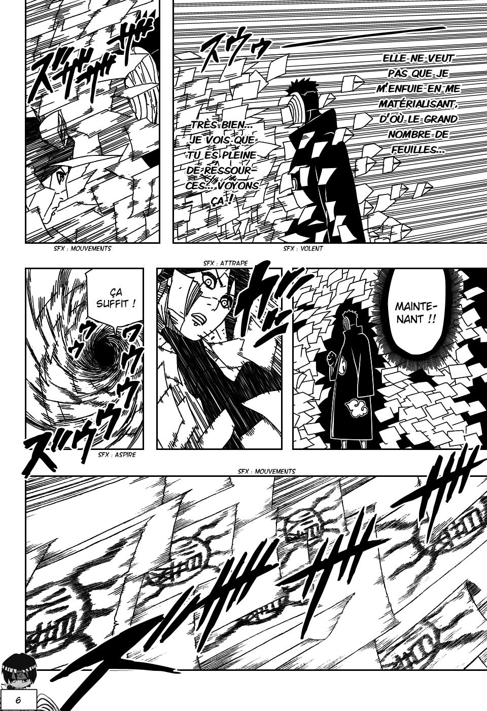 Naruto chapitre 509 - Page 6