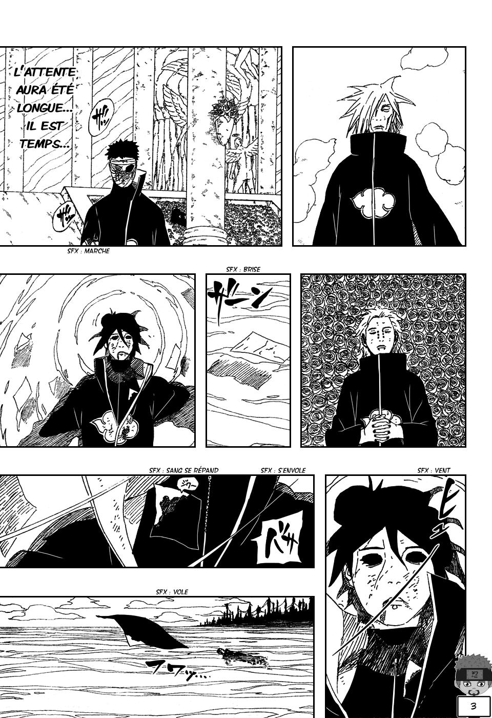 Naruto chapitre 511 - Page 3