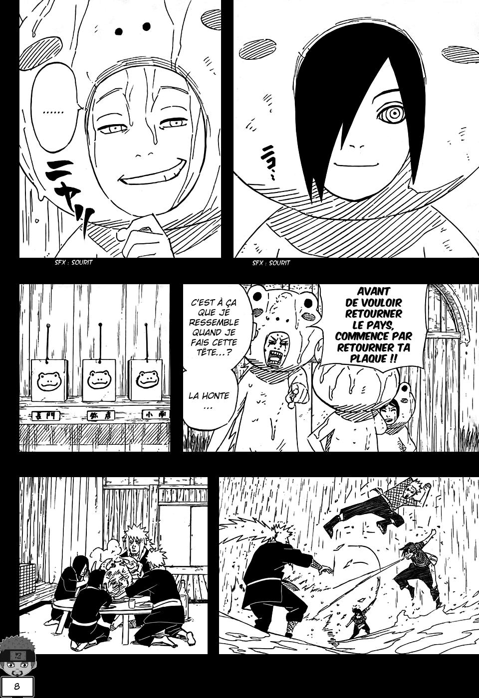 Naruto chapitre 511 - Page 8