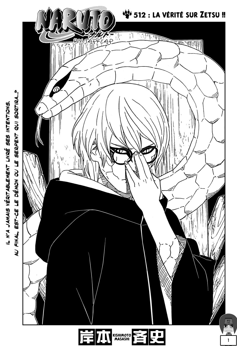 Naruto chapitre 512 - Page 1