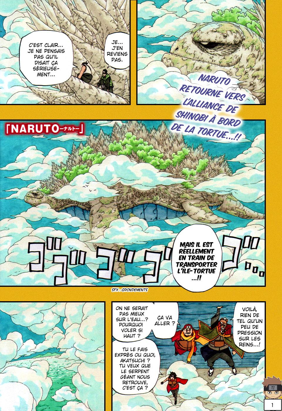 Naruto chapitre 515 - Page 1