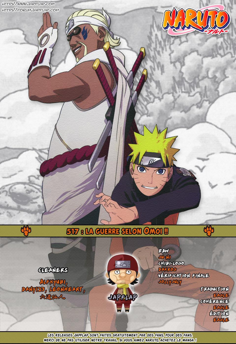 Naruto chapitre 517 - Page 17