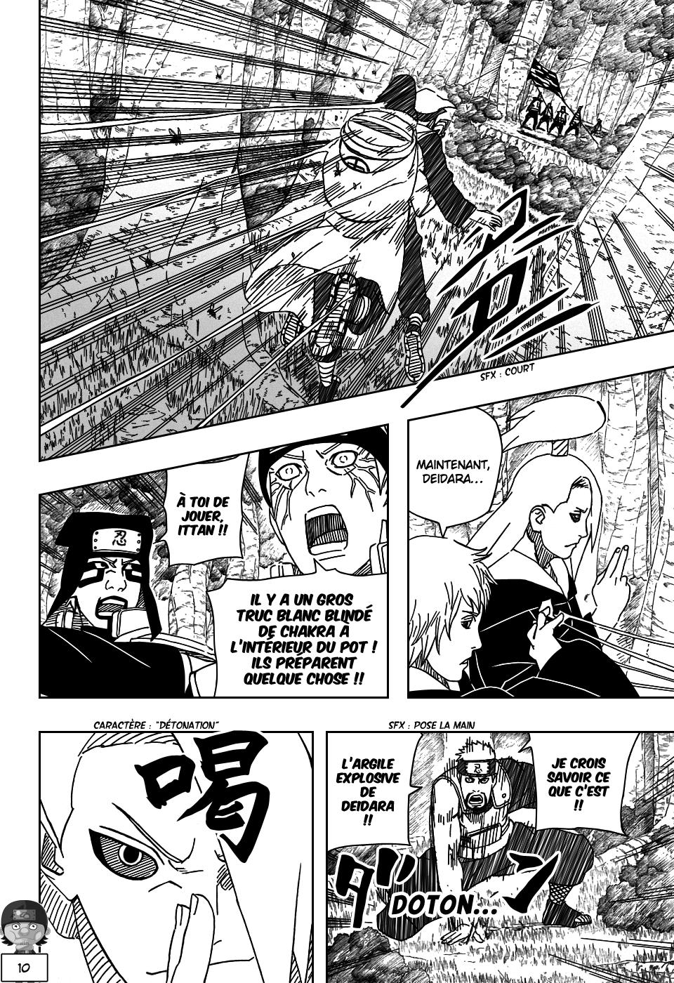 Naruto chapitre 517 - Page 10