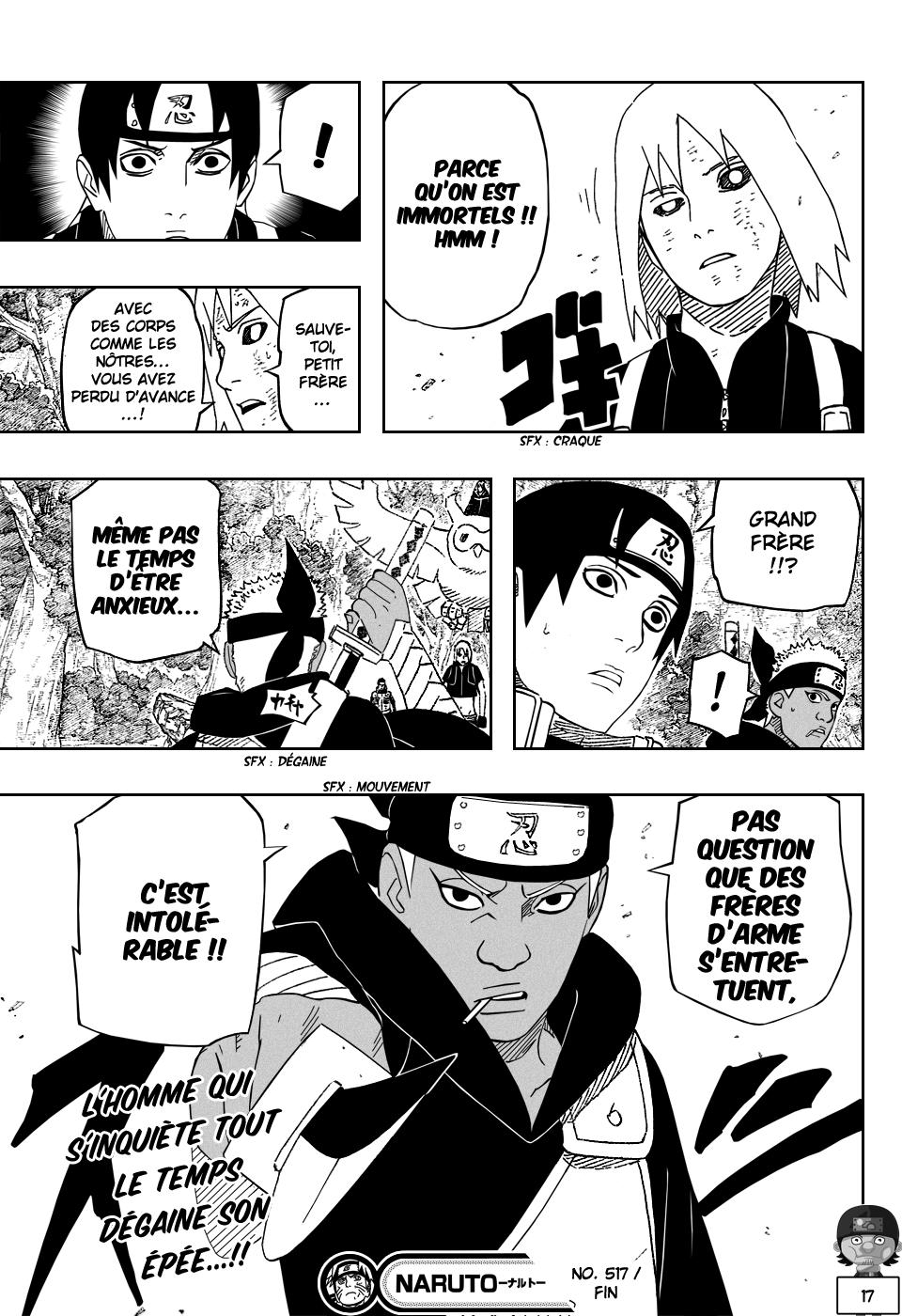 Naruto chapitre 517 - Page 16