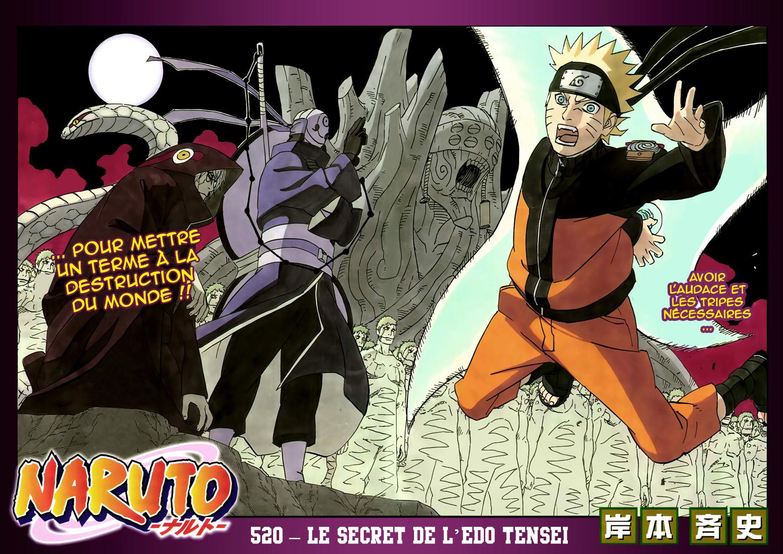 Naruto chapitre 520 - Page 2