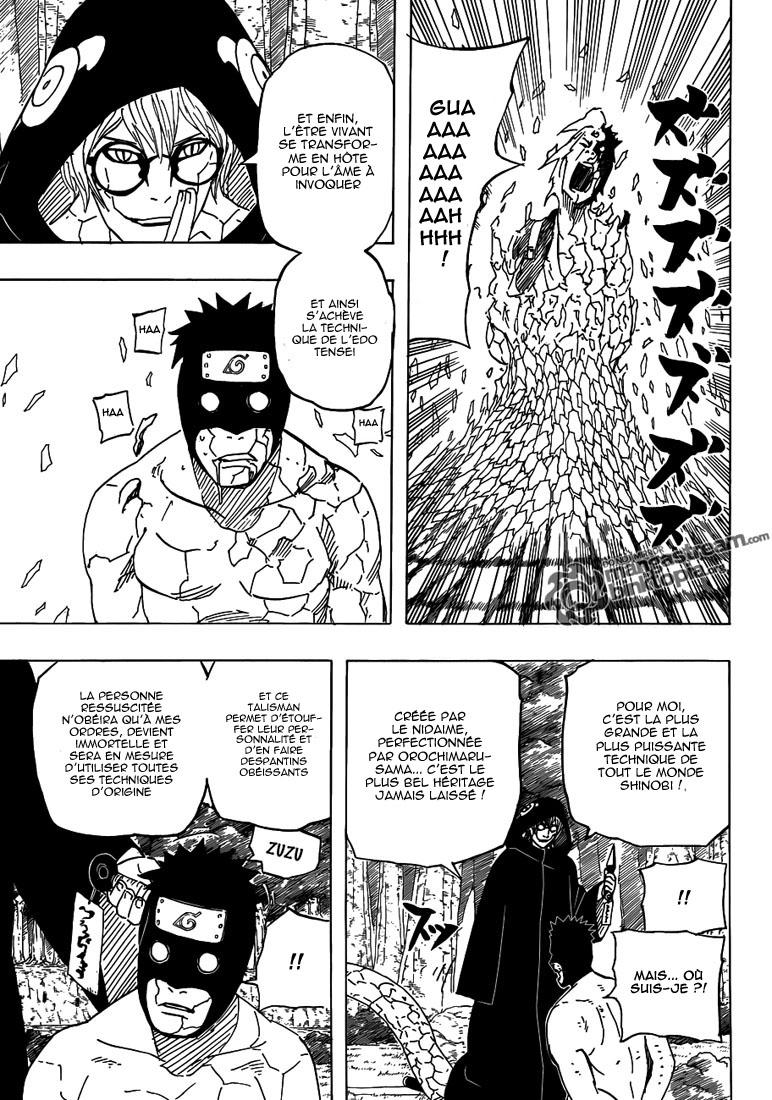 Naruto chapitre 520 - Page 13