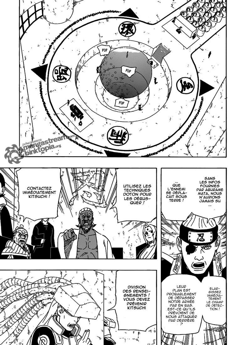 Naruto chapitre 520 - Page 15