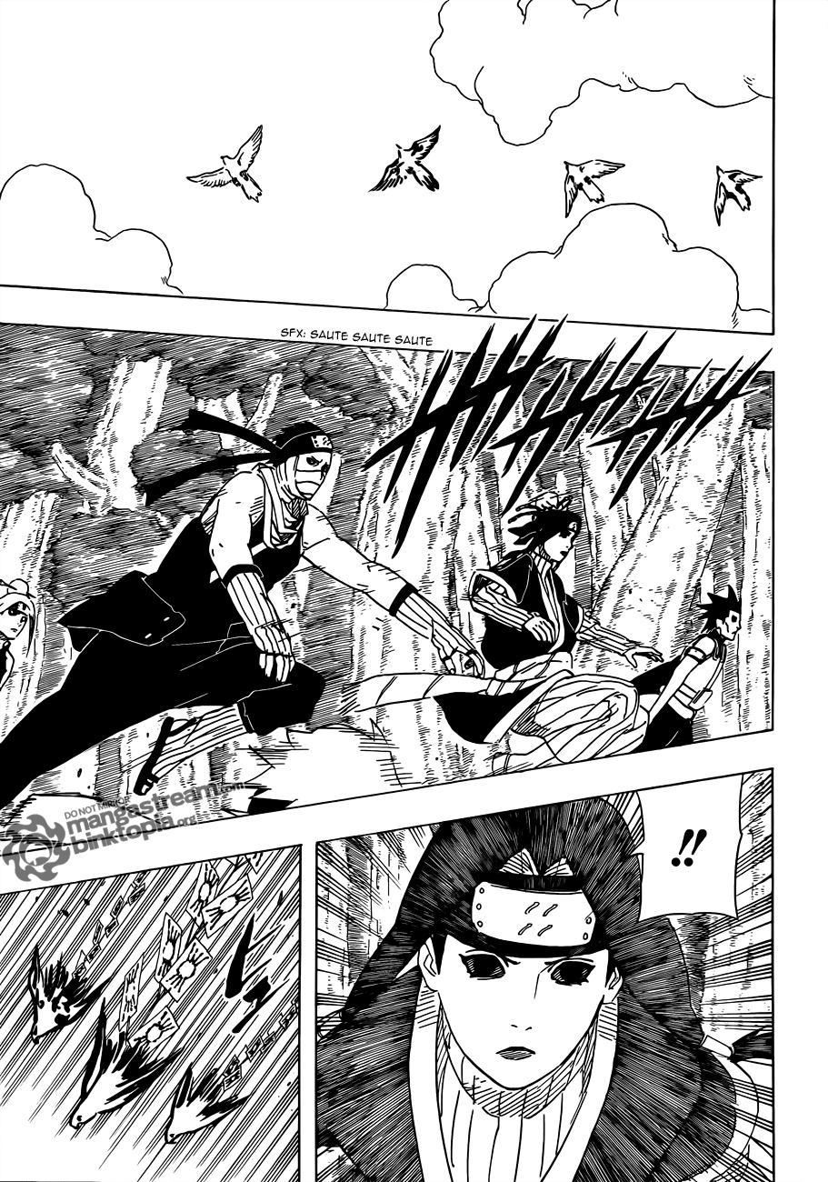 Naruto chapitre 520 - Page 17