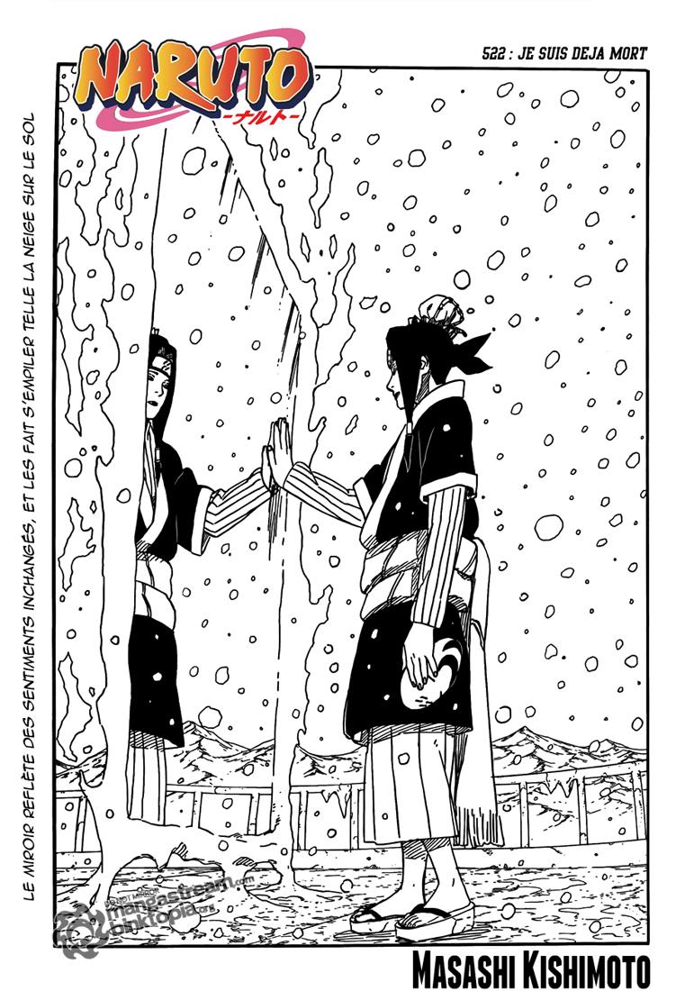 Naruto chapitre 522 - Page 1