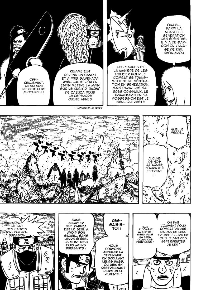 Naruto chapitre 523 - Page 5
