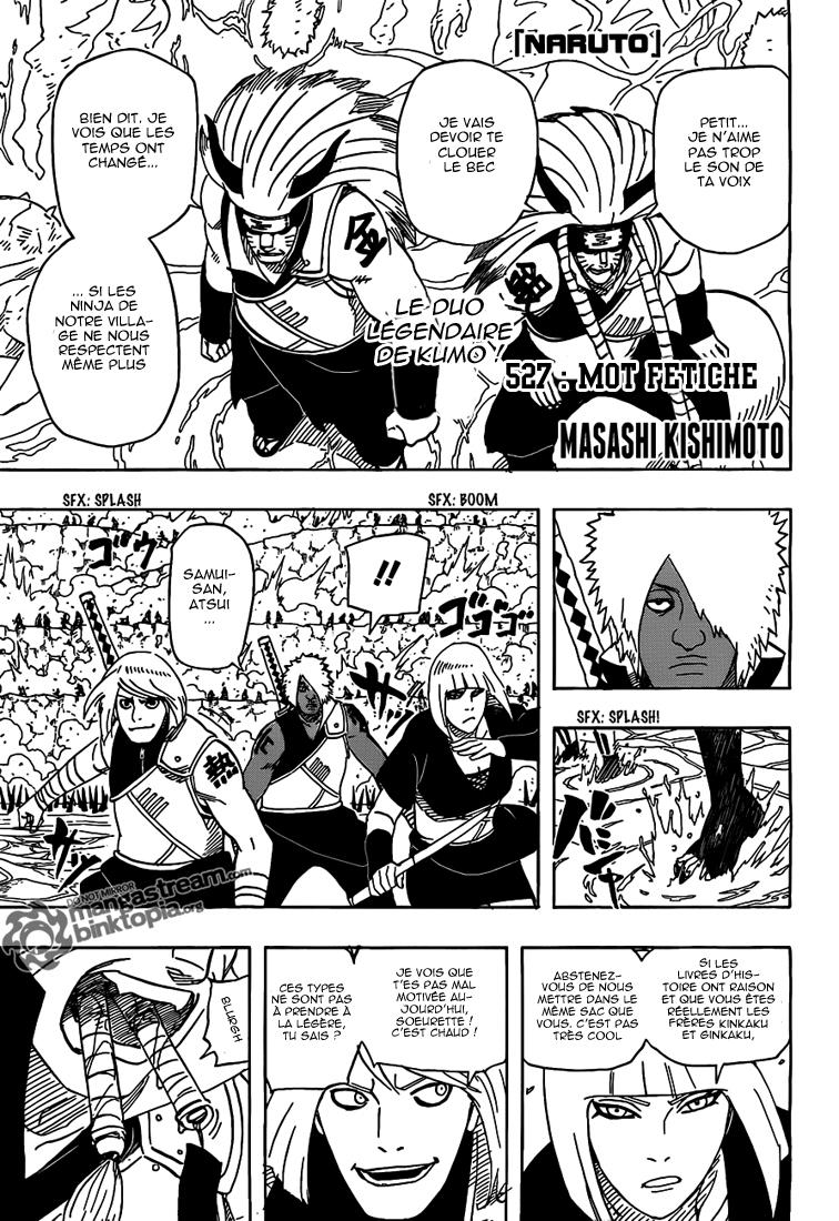 Naruto chapitre 527 - Page 1
