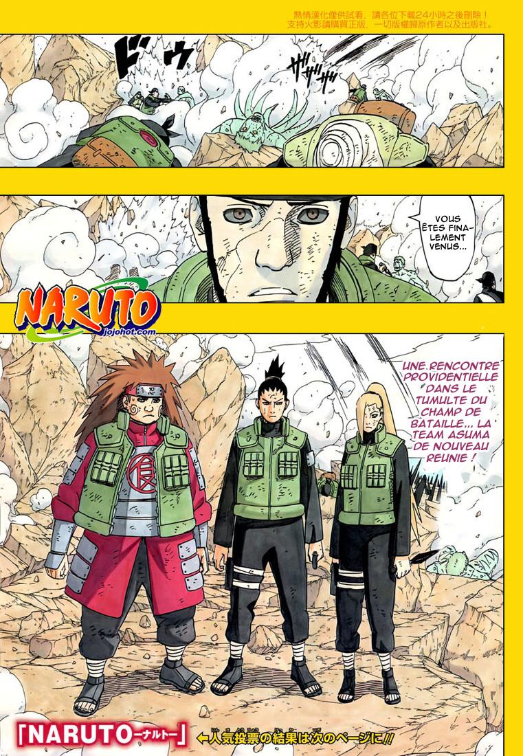 Naruto chapitre 531 - Page 1