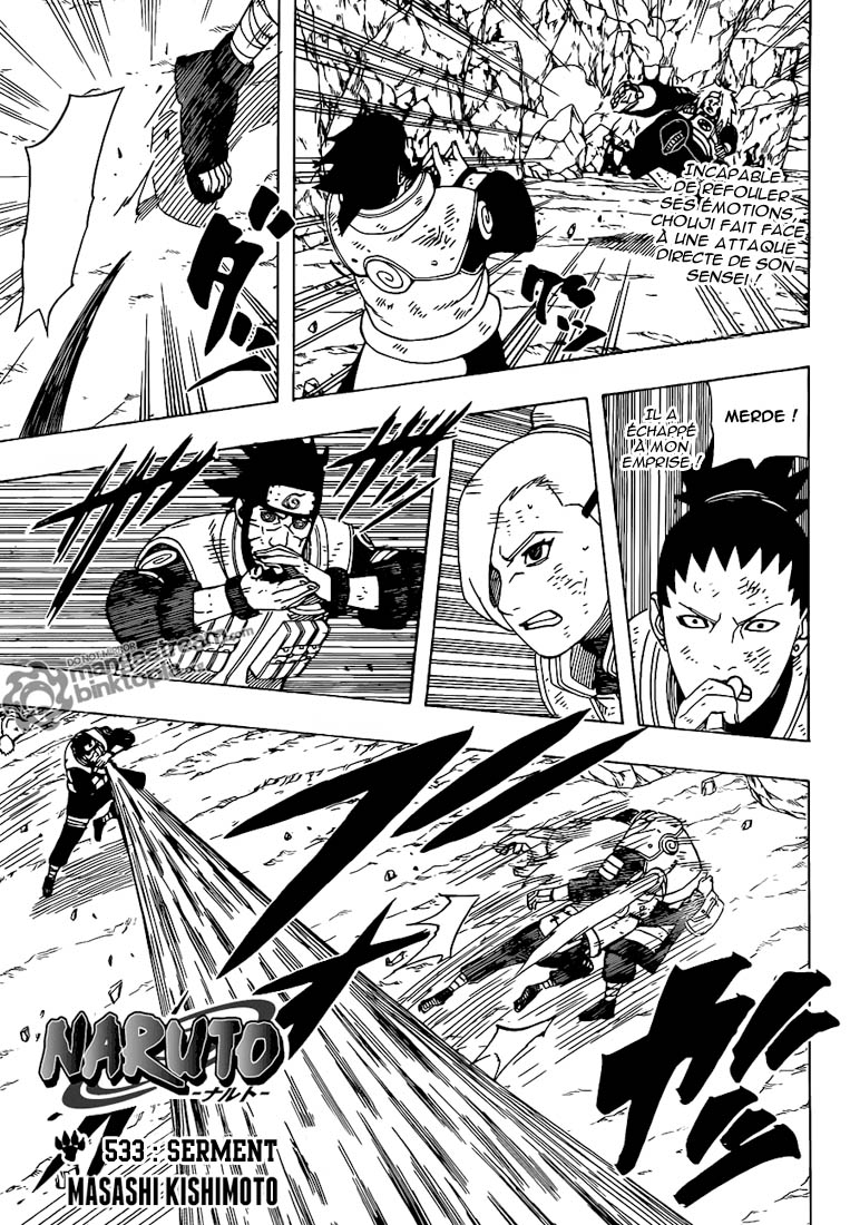 Naruto chapitre 533 - Page 1