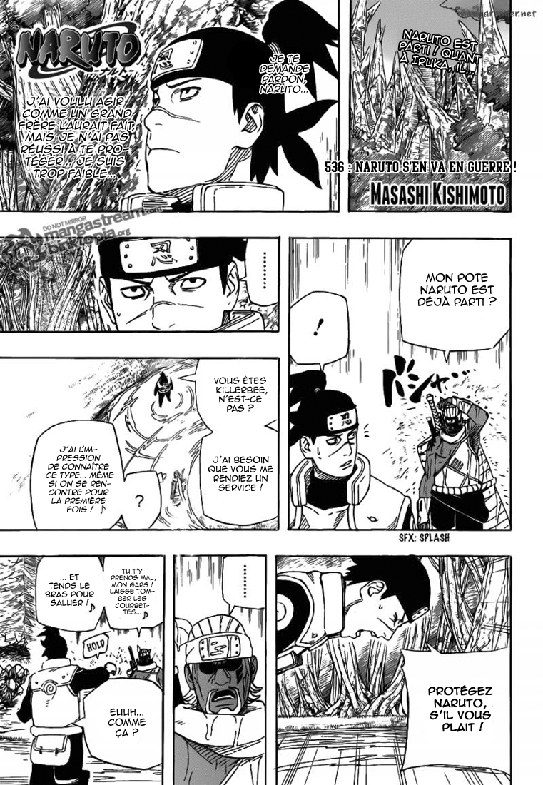 Naruto chapitre 536 - Page 1