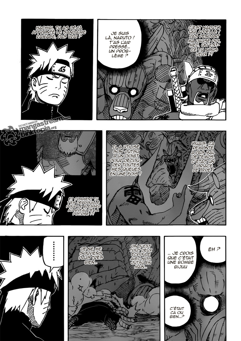Naruto chapitre 555 - Page 9