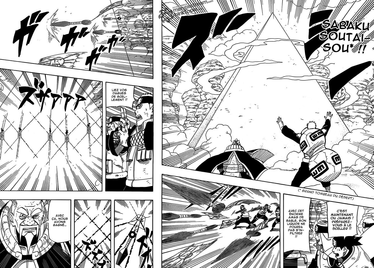 Naruto chapitre 556 - Page 13