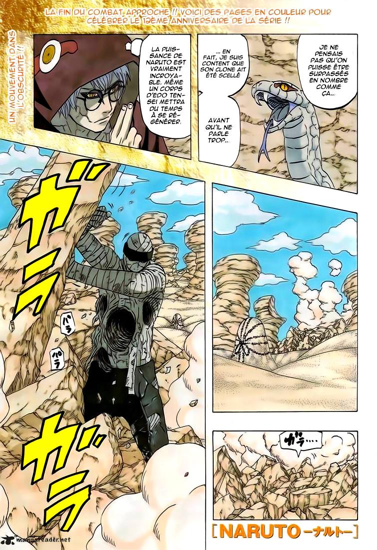 Naruto chapitre 558 - Page 1