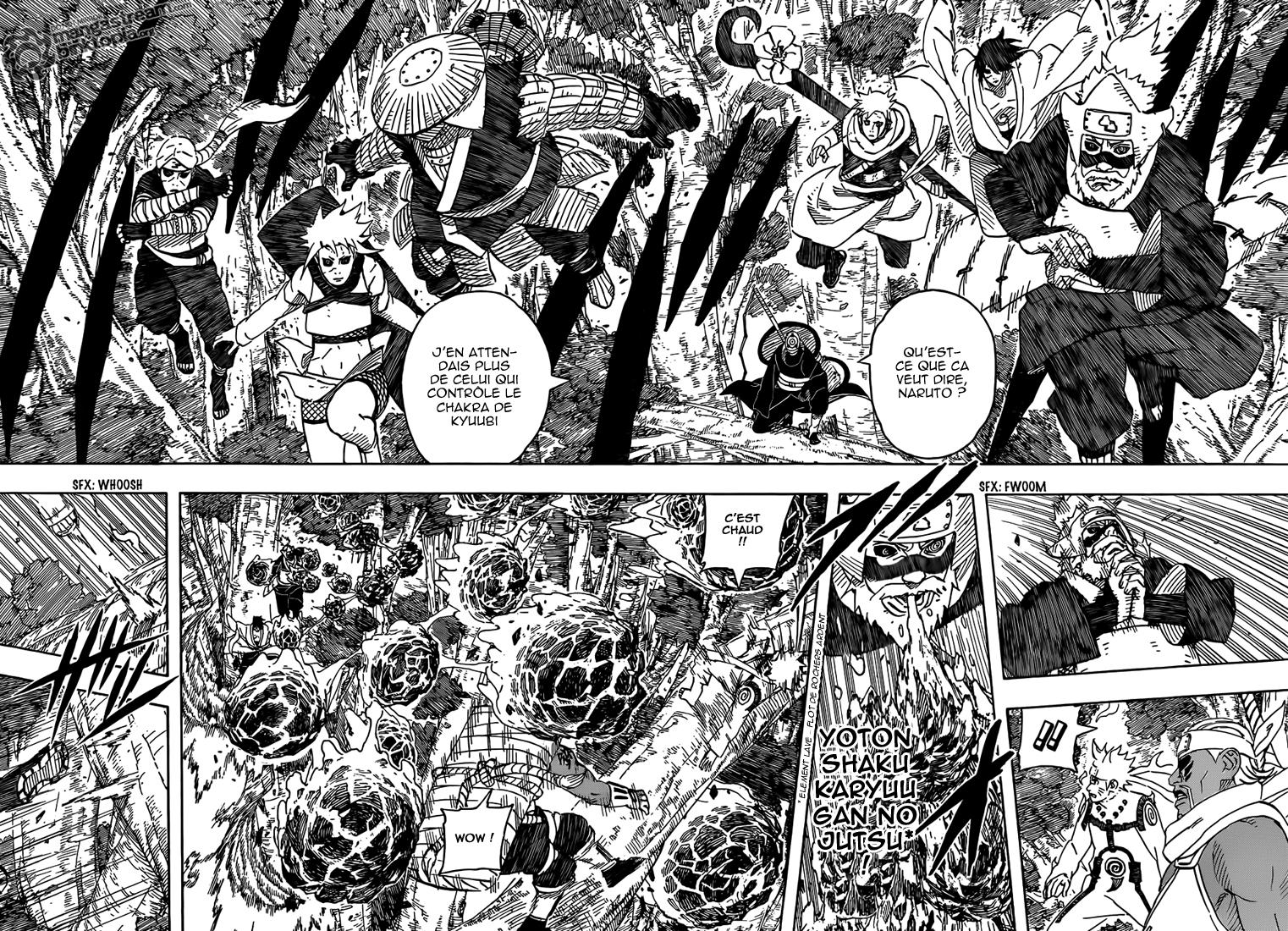 Naruto chapitre 564 - Page 2
