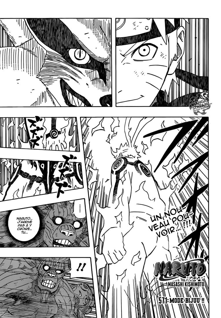 Naruto chapitre 571 - Page 1