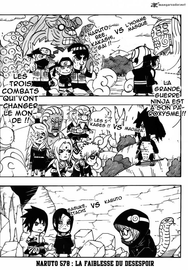 Naruto chapitre 578 - Page 1