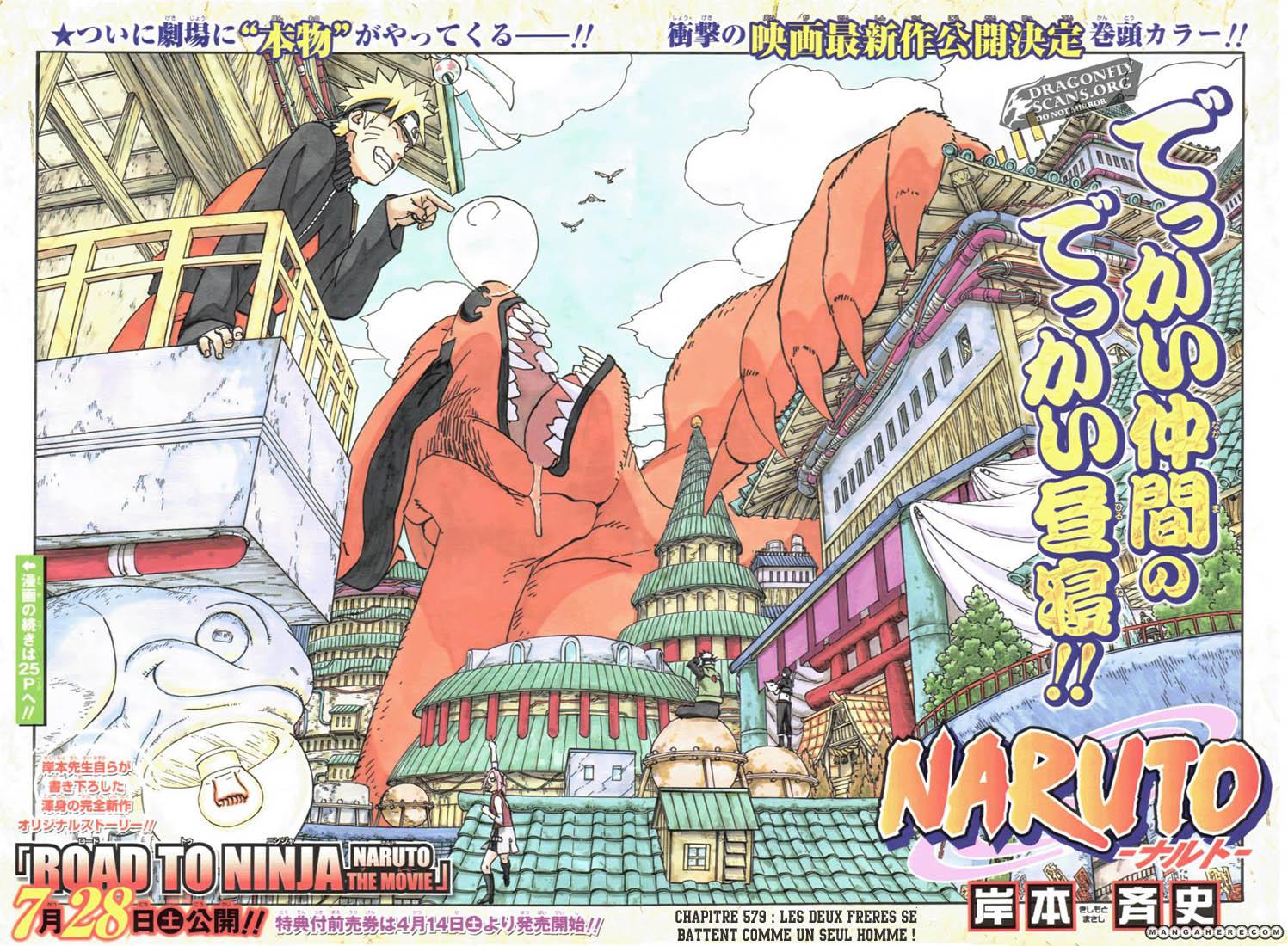 Naruto chapitre 579 - Page 1