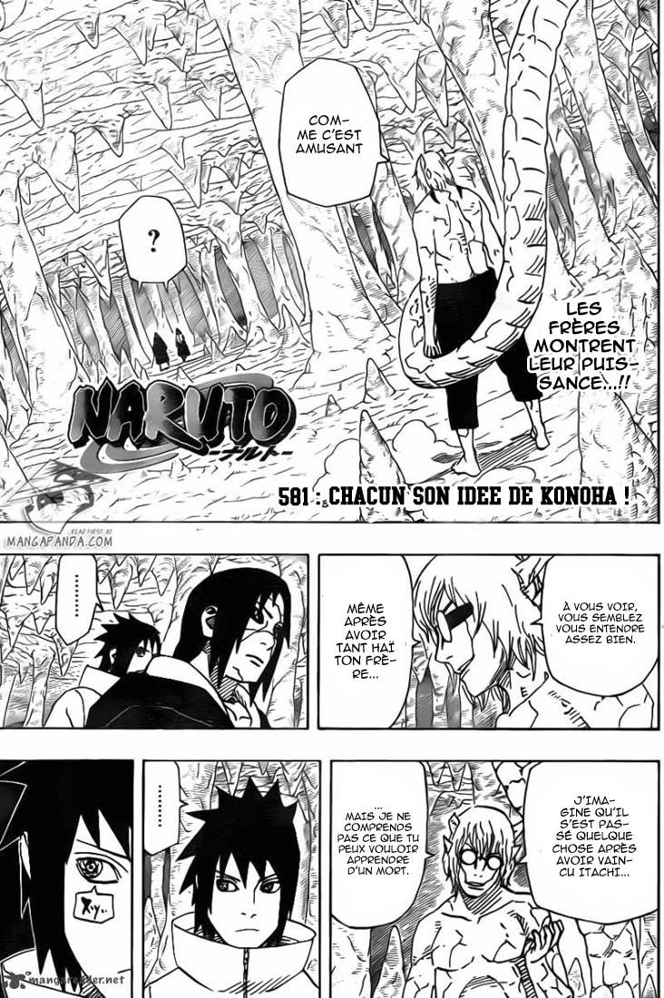 Naruto chapitre 581 - Page 1