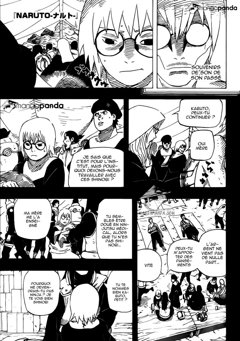 Naruto chapitre 583 - Page 1