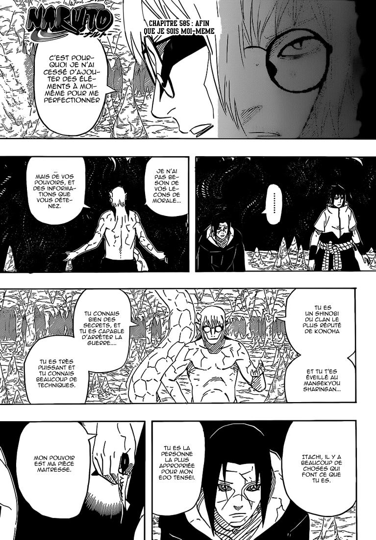 Naruto chapitre 585 - Page 1