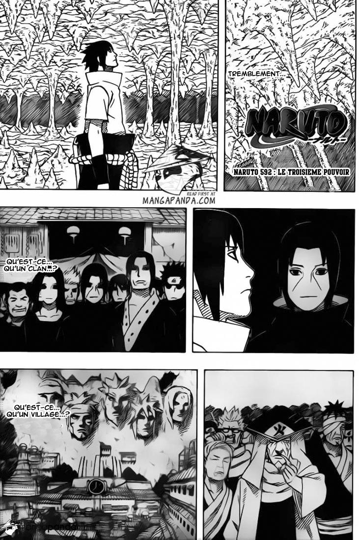 Naruto chapitre 592 - Page 1