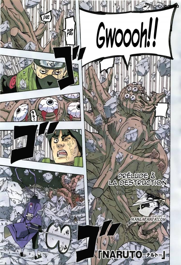 Naruto chapitre 595 - Page 1