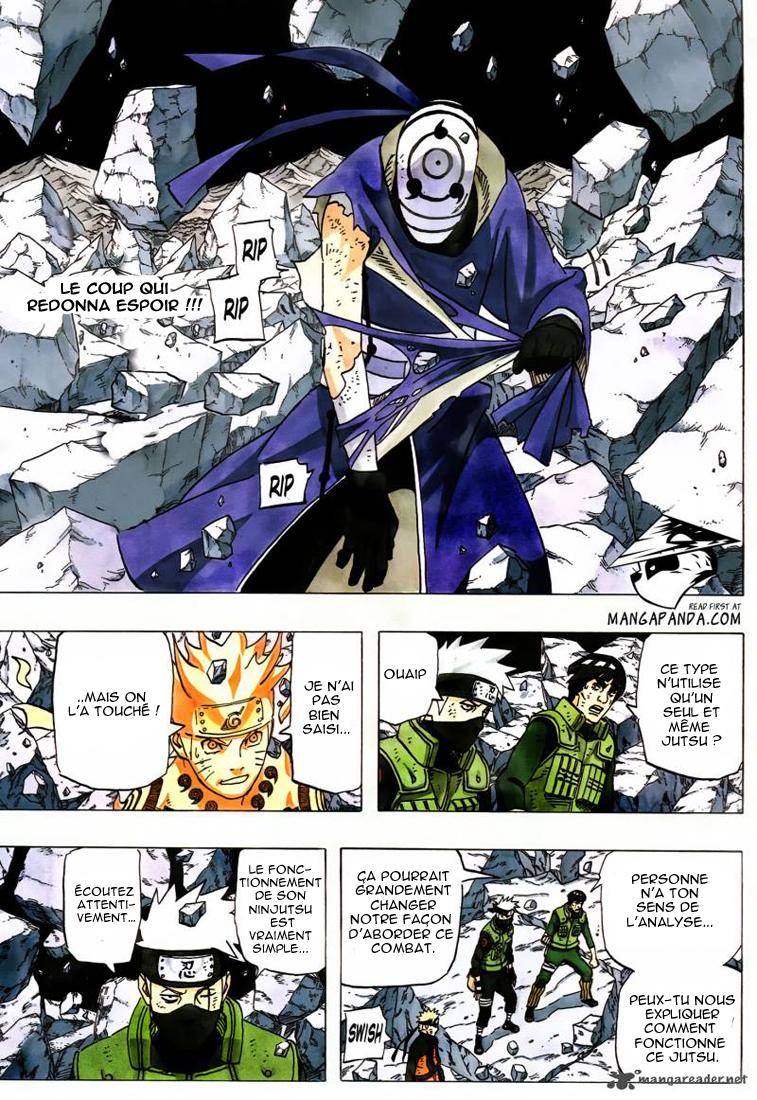 Naruto chapitre 597 - Page 1