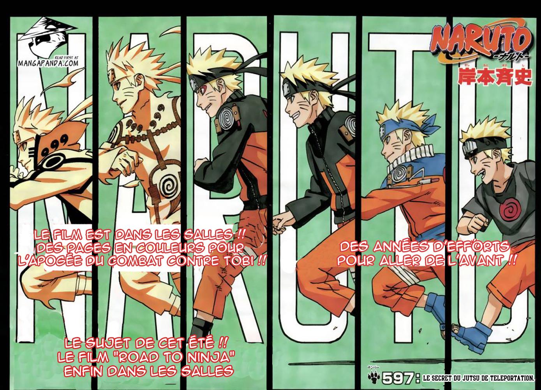 Naruto chapitre 597 - Page 2