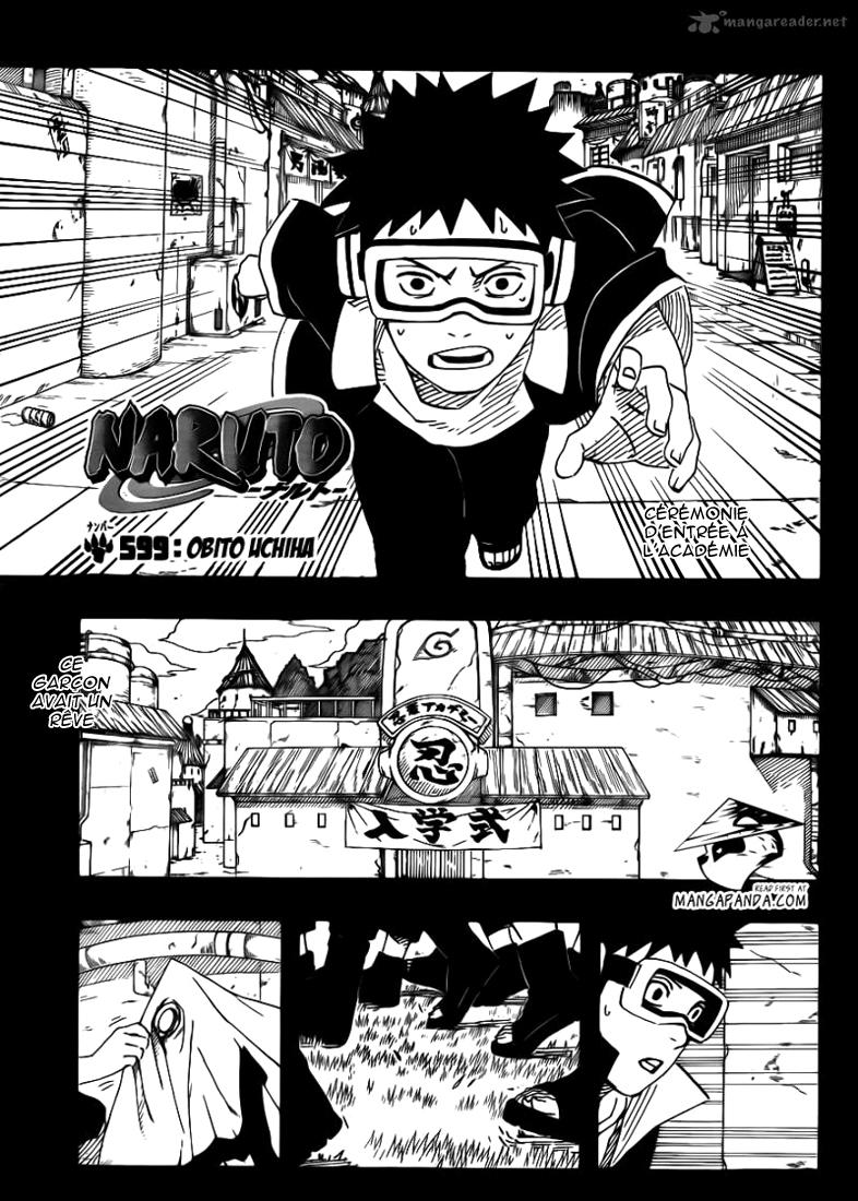 Naruto chapitre 599 - Page 1