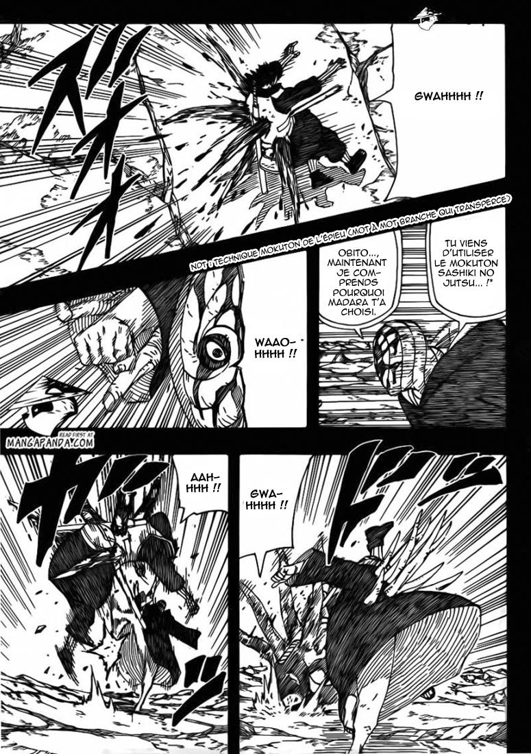 Naruto chapitre 605 - Page 13