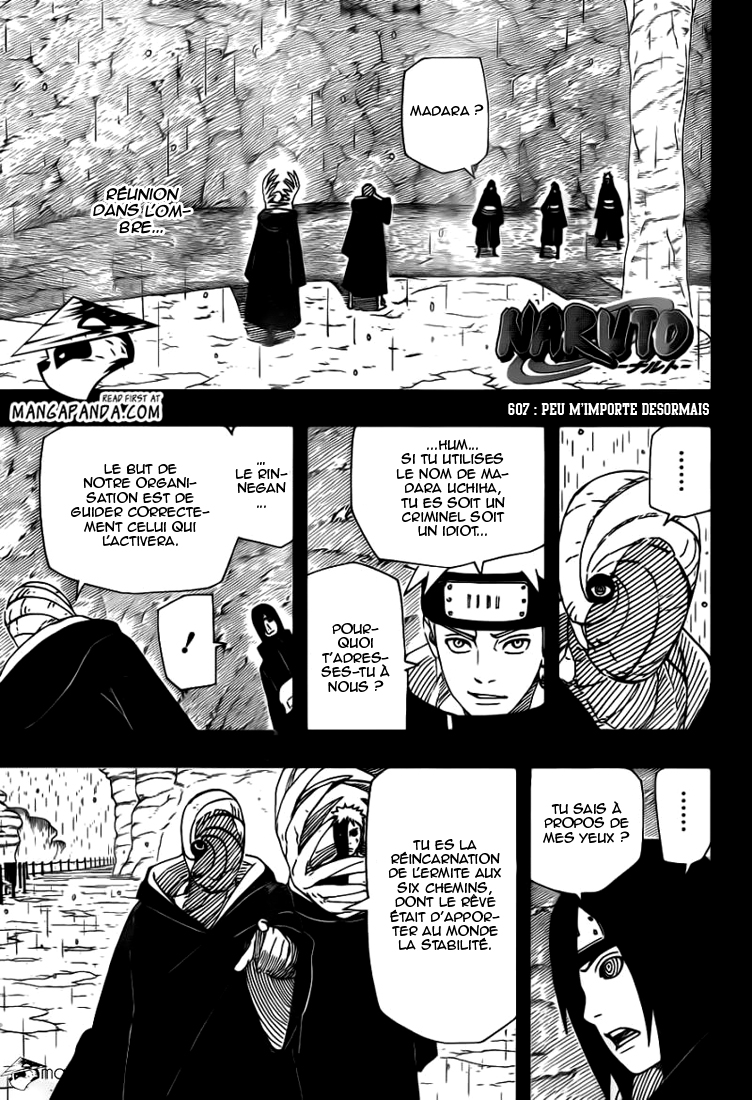 Naruto chapitre 607 - Page 1