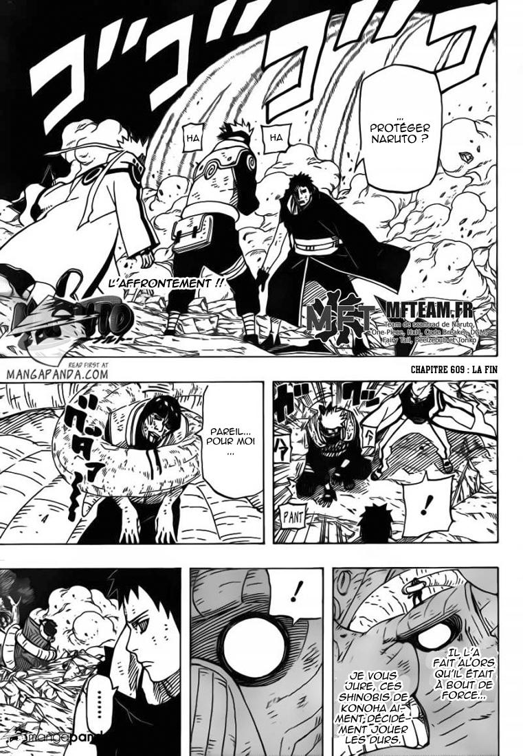Naruto chapitre 609 - Page 1